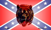 Confederate Bear Wholesale Novelty Metal Magnet