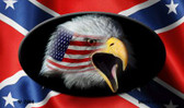 Confederate Eagle Wholesale Novelty Metal Magnet