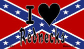 I Love Rednecks Wholesale Novelty Metal Magnet