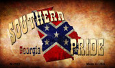 Southern Pride Georgia Wholesale Novelty Metal Magnet