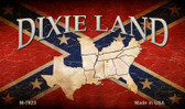 Dixie Land Wholesale Novelty Metal Magnet