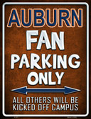 Auburn Wholesale Metal Novelty Parking Sign