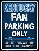 Kentucky Wholesale Metal Novelty Parking Sign