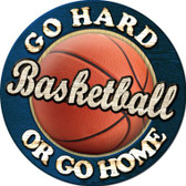 Basketball Wholesale Novelty Metal Circular Sign