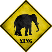 Elephant Xing Wholesale Novelty Metal Crossing Sign