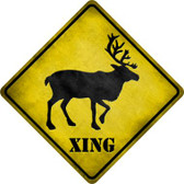Elk Xing Wholesale Novelty Metal Crossing Sign