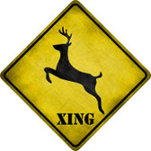 Deer Xing Wholesale Novelty Metal Crossing Sign