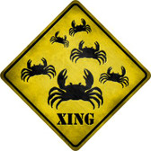 Crab Xing Wholesale Novelty Metal Crossing Sign