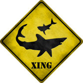 Shark Xing Wholesale Novelty Metal Crossing Sign