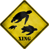 Turtle Xing Wholesale Novelty Metal Crossing Sign