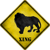 Lion Xing Wholesale Novelty Metal Crossing Sign