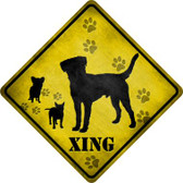 Dogs Xing Wholesale Novelty Metal Crossing Sign