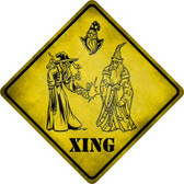 Wizards Xing Wholesale Novelty Metal Crossing Sign