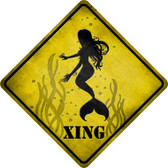 Mermaids Xing Wholesale Novelty Metal Crossing Sign