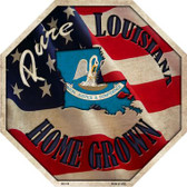 Louisiana Home Grown Wholesale Metal Novelty Stop Sign