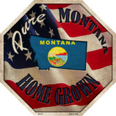 Montana Home Grown Wholesale Metal Novelty Stop Sign