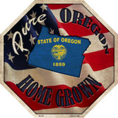 Oregon Home Grown Wholesale Metal Novelty Stop Sign