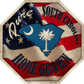 South Carolina Home Grown Wholesale Metal Novelty Stop Sign