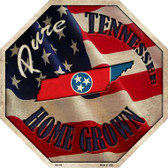 Tennessee Home Grown Wholesale Metal Novelty Stop Sign