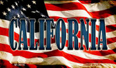 California Wholesale Novelty Metal Magnet