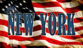New York Wholesale Novelty Metal Magnet M-3643