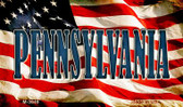 Pennsylvania Wholesale Novelty Metal Magnet M-3649