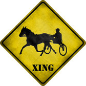 Harness Racing Xing Wholesale Novelty Metal Crossing Sign