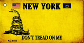 New York Don't Tread On Me Wholesale Novelty Key Chain