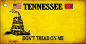 Tennessee Don't Tread On Me Wholesale Novelty Key Chain