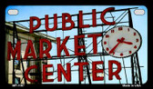 Pike Place Wholesale Metal Novelty Motorcycle License Plate