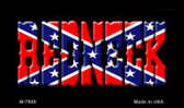 Redneck Confederate Flag Wholesale Novelty Metal Magnet