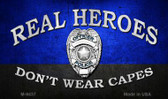 Real Heroes Blue Wholesale Novelty Metal Magnet