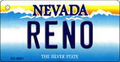 Reno Nevada Background Wholesale Novelty Key Chain KC-9551