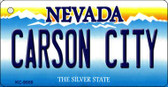 Carson City Nevada Background Wholesale Novelty Key Chain