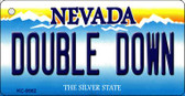 Double Down Nevada Background Wholesale Novelty Key Chain