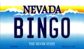Bingo Nevada Background Wholesale Novelty Metal Magnet