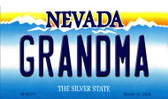 Grandma Nevada Background Wholesale Novelty Metal Magnet