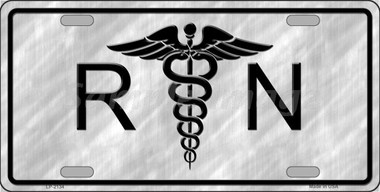 RN Wholesale Metal Novelty License Plate