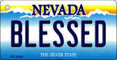 Blessed Nevada Background Wholesale Novelty Key Chain