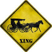 Carriage Xing Wholesale Novelty Metal Crossing Sign