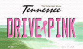 Drive Pink Tennessee Wholesale Novelty Metal Magnet