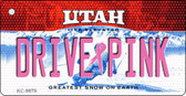 Drive Pink Utah Wholesale Novelty Key Chain