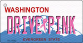 Drive Pink Washington Wholesale Novelty Key Chain