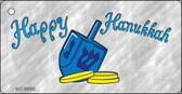 Happy Hanukkah Dreidel Wholesale Novelty Key Chain