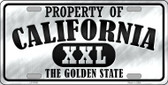 Property Of California Novelty Wholesale Metal License Plate