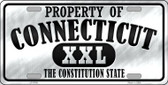 Property Of Connecticut Novelty Wholesale Metal License Plate
