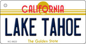 Lake Tahoe California Background Wholesale Novelty Key Chain