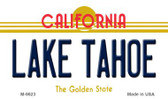 Lake Tahoe California Background Wholesale Novelty Metal Magnet