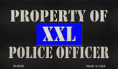 Property Of Police Officer Wholesale Novelty Metal Magnet