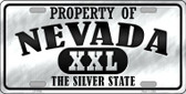 Property Of Nevada Novelty Wholesale Metal License Plate